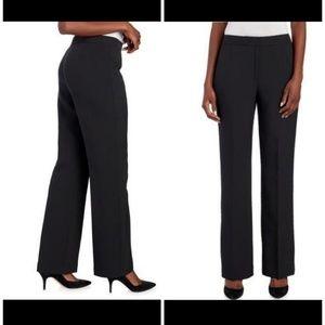 Kasper Black Kate Classic Fit Dress Pants Sz 8